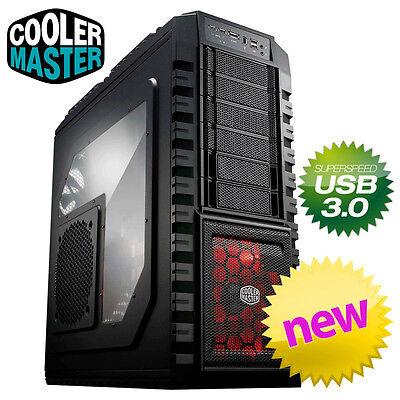 Cooler Master HAF X 942 USB 3.0 Gaming Full Tower Desktop PC Computer Case ATX