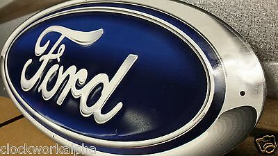 Embossed FORD Metal SIGN Mustang Truck Shelby Garage Gas Oil Parts Chevy Mobil