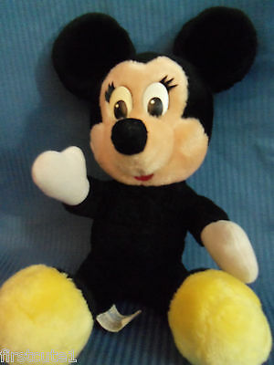 "14"" Disneyland Walt Disney World Vintage Minnie Mouse Plush Cloth Tush Tag"