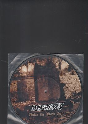 "NECRONY - under the black soil EP 10"" picture disc"