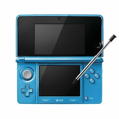 New Nintendo 3DS Metallic Light blue Video Games