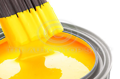 JCB NEW Yellow 1 Litre of Enamel Paint  JFB227