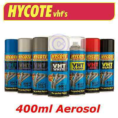 Hycote 400ml Aersol Very High Temperture Paint VHT Exhaust Caliber Brakes