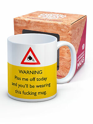 Brainbox Candy rude funny novelty mug birthday gift present coffee tea cup