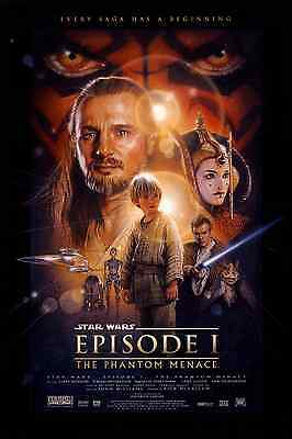 "New Star Wars Episode 1 The Phantom Menace Original Movie Poster 27"" x 40"""