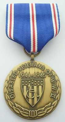 Disabled Veterans Wwii Commemorative Medal