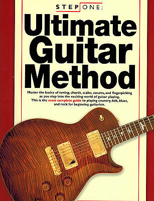 Step One Ultimate Guitar Method Bk&3CDs SPECIAL SALE PRICE!!!