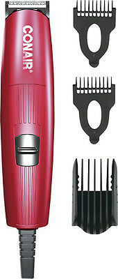 Conair - Corded Beard and Mustache Trimmer - Red