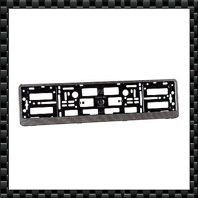 2 x High Quality Number Plate Holder / Surround Frame - ABS PC - CARBON EFFECT