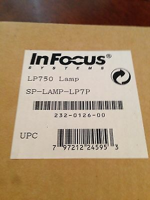 Brand New GENUINE Infocus SP-LAMP-LP7P Lamp for LP750 projector