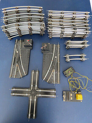 Vintage American Flyer S Gauge Track, Switches, Cross Track and Uncoupler