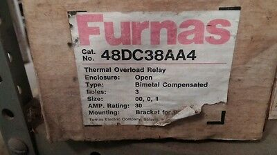 Furnas 48DC38AA4 THERMAL OVERLOAD RELAY