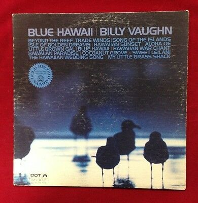 Blue Hawaii Billy Vaughn - Vinyl 33RP Album LP Record DOT Music