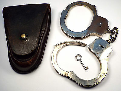 Antique 1912 Peerless Handcuffs Model/Version 1 by Smith & Wesson Vintage Police