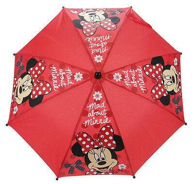 Licensed Disney Mad About Minnie Mouse Winter Summer Umbrella Official Genuine