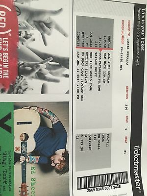 Two(2) Taylor Swift 1989 World Tour Tickets @ Metlife Stadium 7/11/15