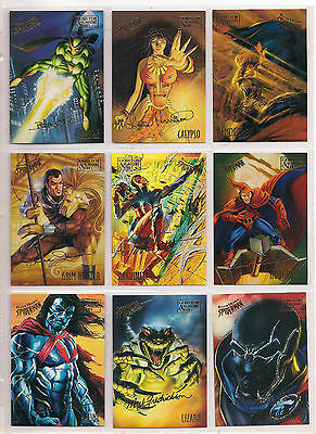 1995 MARVEL FLEER ULTRA SPIDER-MAN GOLD SIGNATURE CARDS - PICK 5 Masterpieces