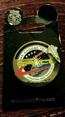 WDW - Mission Space: International Space Training Center (Slider/3D) Disney Pin