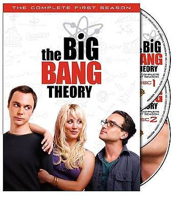 Big Bang Theory - The Complete First Season (DVD, 2008, 3-Disc Set). Btand New