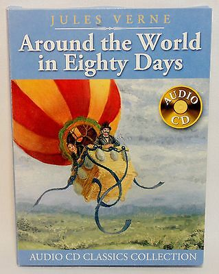 Jules Verne AROUND THE WORLD IN EIGHTY DAYS Audio Classics Collection Abridged