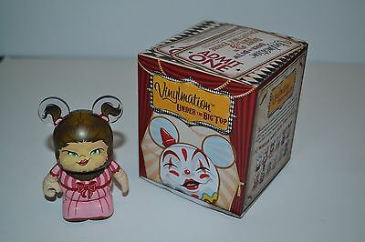 """Disney Vinylmation Under The Big Top Series HAIRY BEARDED LADY Circus 3"""" Figure"""