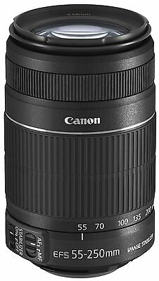 New! Canon EF-S 55-250mm f/4-5.6 IS II in BOX zoom lens from Japan