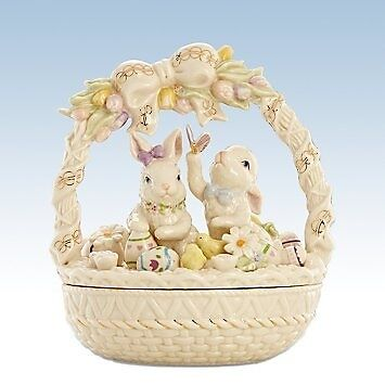 Easter Morning Bunny Basket by Lenox