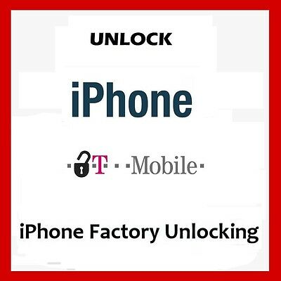 USA T-Mobile Factory Unlock Service For Apple iPhone 5 5c 5s 6 6 Plus Clean IMEI