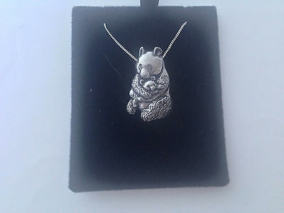 F8   Grayling on a 925 sterling silver Necklace Handmade 18 inch chain