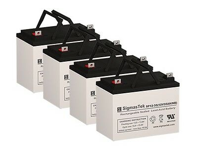 Pack of 4 - 12V 35AH U1 - Wheelchair Scooter Medical Battery **NEW**