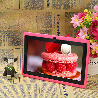 """8GB 7"""" Google Android 4.2 Kid Tablet PC Pad A23 WiFi Capacitive Dual Core Camera"""