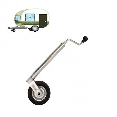 Caravan 48Mm Medium Duty Jockey Wheel No Clamp Mp4365