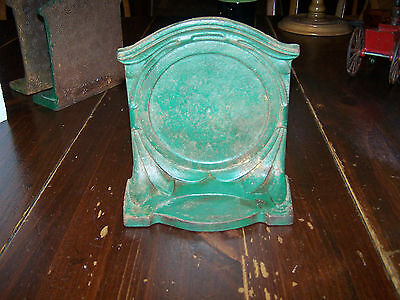 OLD RARE ORNATE GENERAL DEVICES CO. DOOR STOP OR BOOKEND! #3