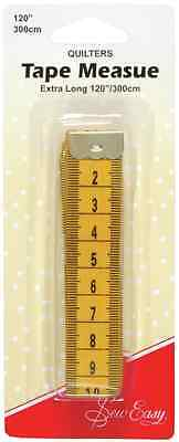 Sew Easy Quilters Tape Measure 300cm 120in