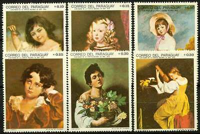 15-02-00106 - Paraguay 1968 Sc.  1099 MNH 100% Paintings