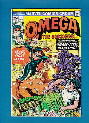 OMEGA THE UNKNOWN #1 (MARCH 1976) FN/VF