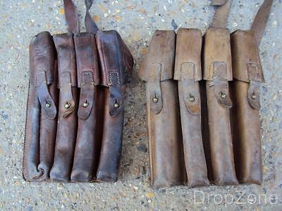 Leather Army Military Thompson / PPSH Ammo Ammunition Magazine Pouch