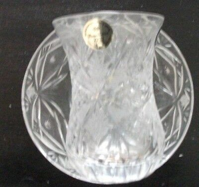 Crystal Turkish Tea Cup set, Turkish