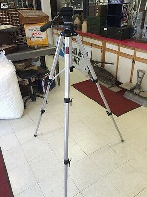 Bogen Manfrotto 3033 Tripod With 3160 Camera Head Pro NICE!