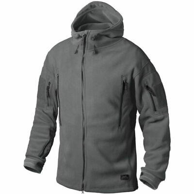 Helikon Tex Patriot Heavy Fleece Jacket Shadow Grey Outdoor Jacke
