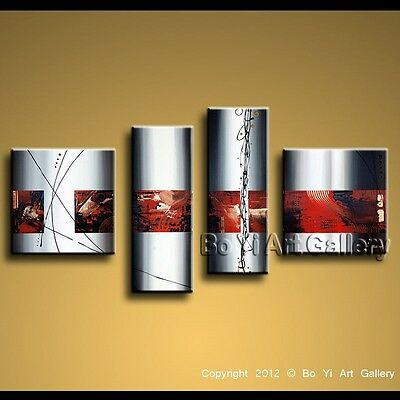 Modern Contemporary Abstract Oil Painting Large Wall Art Canvas (+Framed) BoYi