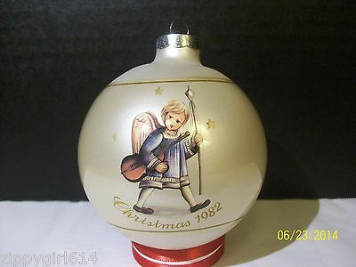 Schmid Hummel Ornament Christmas 1982 Angelic Procession 9th Limited Edition