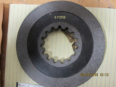 "97006 Reuland Electric Brake Friction Disc 6.75"" OD NSN 6105-00-574-9334"