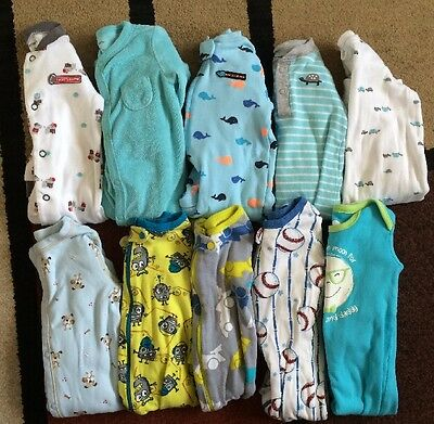 Lot Of Baby Boy Clothes Size 6-9 Months