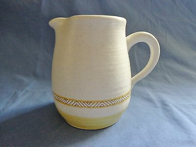 Franciscan Earthenware Hacienda Creamer Numbered Cream and Gold  USA