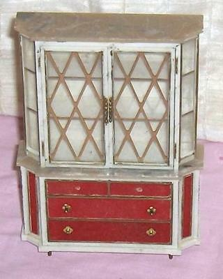 Ideal Petite Princess Treasure Trove Cabinet Dollhouse Furniture