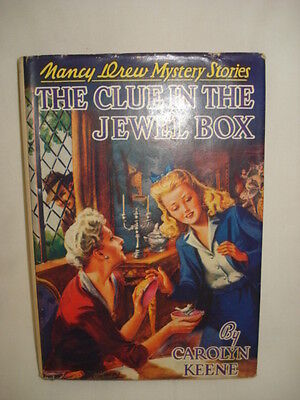 Vintage 1943 Nancy Drew Mystery The Clue In The Jewel Box 25 Original Chapters