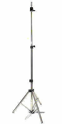 Stainless Steel Tripod Stand Cosmetology Training Mannequin Head Holder