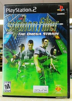 Syphon Filter: The Omega Strain  (Sony PlayStation 2, 2004)