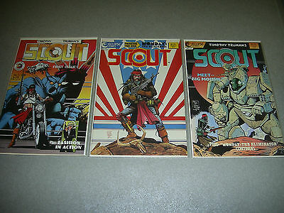Timothy Truman SCOUT 1 11 12 Bagged Boarded Eclipse comics
